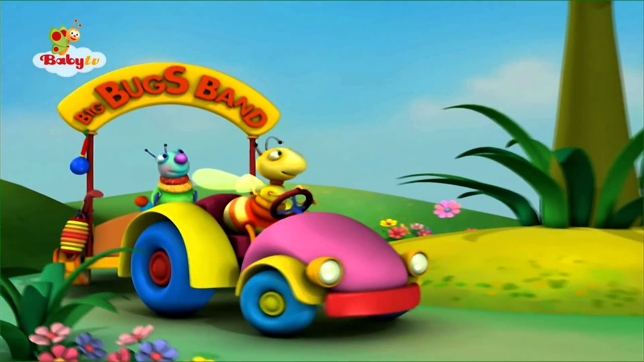 BabyTV - The Big Bugs Band Song - YouTube