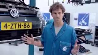 Volkswagen bebek arabası yapmış