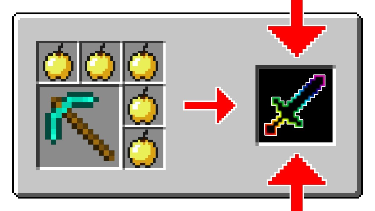 Minecraft Custom Crafting