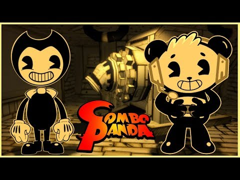 Scary Bendy and the Ink Machine Steam Game Let's Play with Combo Panda
