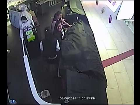 Girls Broke into Marble Slab Creamery at JCube Mall to steal Ice-Cream