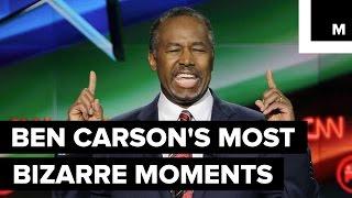 Ben Carson's Most Bizarre Campaign Moments