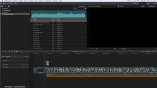 Seleccionar y editar Efectos de Audio