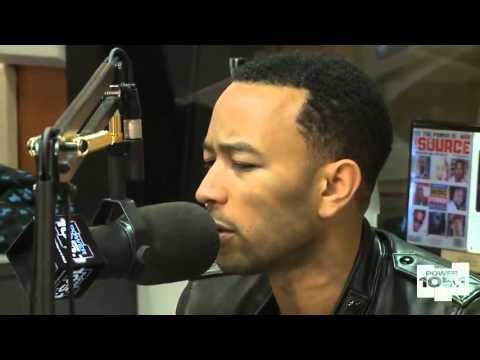 The Breakfast Club Power 105.1 interviews John Legend