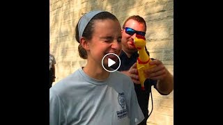 Laugh vs Squeaky Rubber Chicken Challenge II Indiana Police Academy II Focus Test