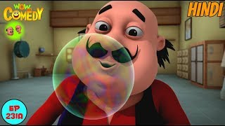 Bubblegum Bomb - Motu Patlu in Hindi - 3D Animated cartoon series for kids - As on nick