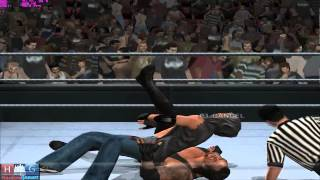 WWE Smack Down vs. Raw 2011™ PC gameplay: UNDERTAKER losing his STREAK (pcsx2 1.1.0)