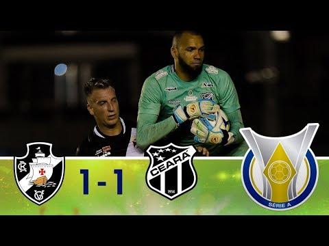 Melhores Momentos - Vasco 1 x 1 Ceará - Campeonato Brasileiro (20/08/2018)