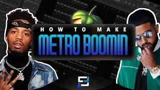How To Make A NAV Type Beat   Making A Ambient Metro Boomin Instrumental   FL Studio 12 Tutorial