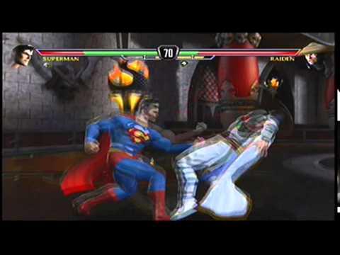 Mortal Kombat vs. DC Universe - Superman Arcade Part 1