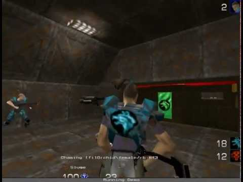 Finland vs Sweden - Quake 2 LMCTF Match #2