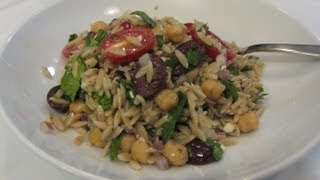 Mediterranean Orzo Salad  - Lynn's Recipes