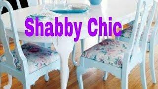 Como Reformar Cadeiras – Estilo Sabby Chic
