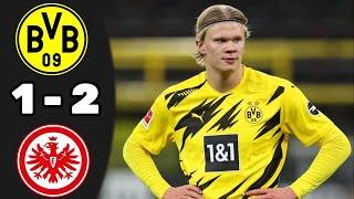 Айнтрахт Боруссия Дортмунд 2 1 Обзор Матча Чемпионата Германии 03 04 2021 HD