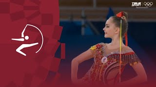 Арина Аверина Лента Финал Олимпиады 2020 Обзор выступления