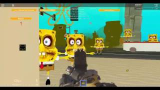 spongebob roblox cod zombie map