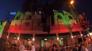 "Ghost Train ""Terror Factory"" Onride (Kermis Hasselt, Belgium) 2015"