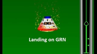 Orion reentry on GRN What