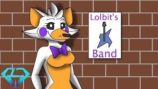 Minecraft Fnaf Lolbit Starts A Rock Band (Minecraft Roleplay)