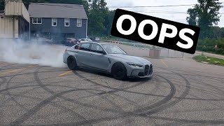 homepage tile video photo for RUINED THE TIRES ON A 2021 G80 M3!