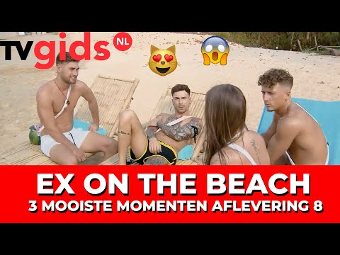 Ex on the Beach - Afl. 8: Nieuwe ex (Stacy!), Elodie vergeeft Harrie & horrordate Silvester/Sharon