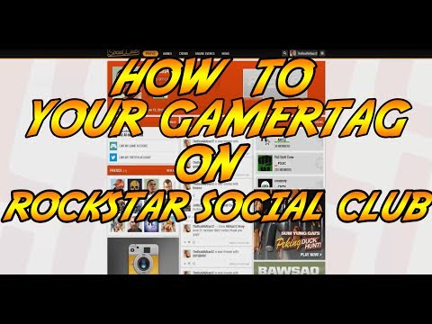 how to link your gamertag on rockstar social club