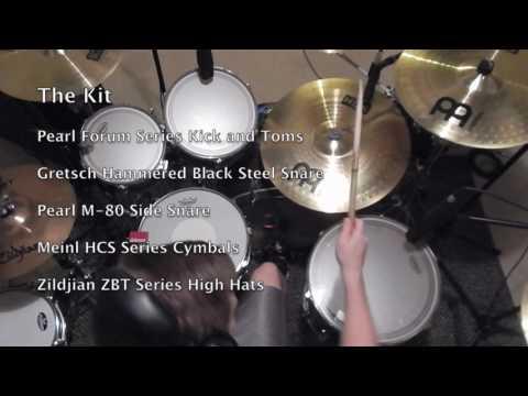Attack and Decay Recording Studio Drum Demo