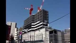 大塚駅南口ビル(仮称)工事のタワークレーン 大塚びる 検索動画 18