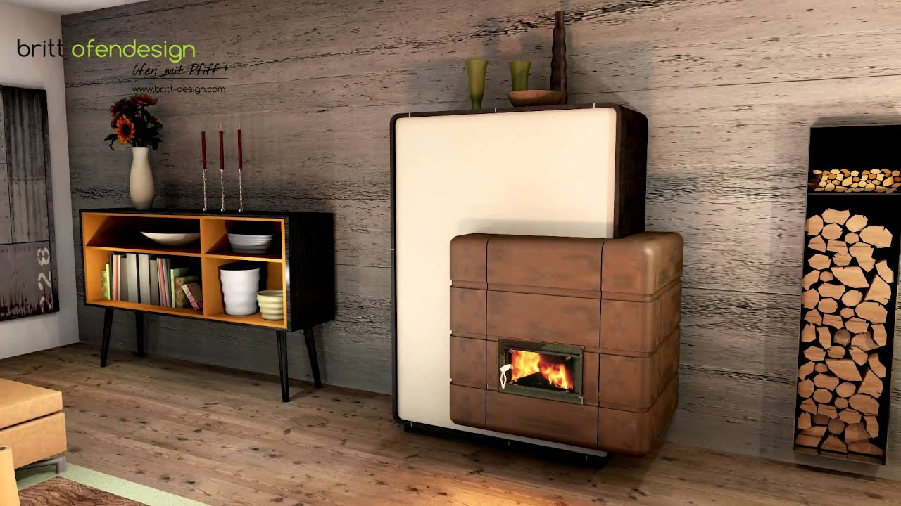 051 britt ofendesign fireplacedesign kachelofen modern tiled stove contemporary youtube. Black Bedroom Furniture Sets. Home Design Ideas