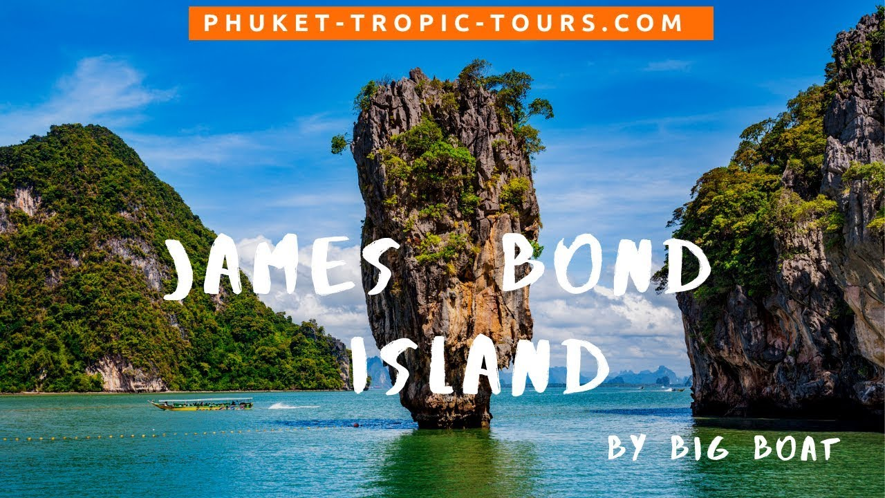 James Bond Island tour by Big Boat, video overview: