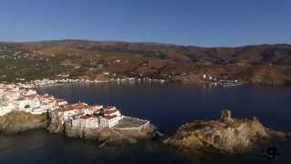 Beaches & Scenery of Andros Island, Greece (Aerial view)