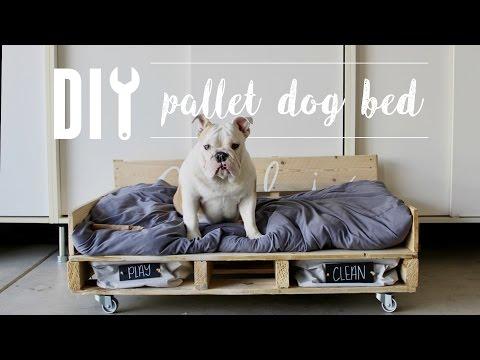 diy-pallet-dog-bed-//-home-depot