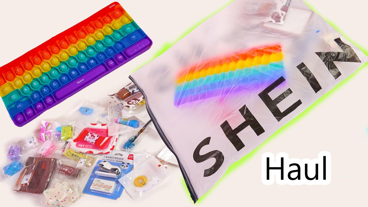 Download Cute Stationery Haul Shein Shopping Video