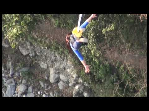The most spectacular Bungy Jump on the Planet ( The Last Resort - Nepal )
