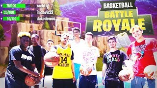 *FIRST EVER* BASKETBALL BATTLE ROYALE!! 2HYPE FT. DUKE DENNIS, IMDAVISSS, AGENT 00 & MORE!