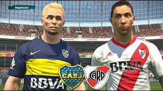 BRADISSON JUEGA EL SUPERCLASICO RIVER PLATE VS BOCA JUNIORS!! PES 2017 BAL #115