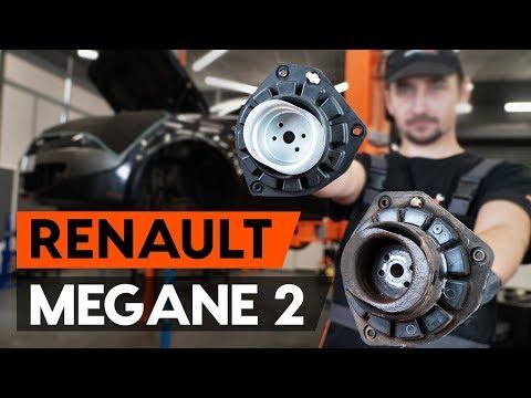 Как заменить опору передней стойки амортизатора RENAULT MEGANE 2 (LM) [ВИДЕОУРОК AUTODOC]