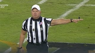 Buff ref turns college football championship into gun show