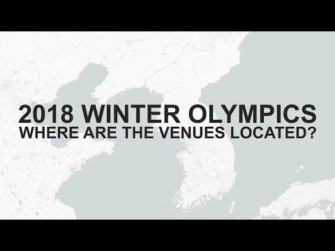 PyeongChang 2018 Winter Olympics - Where Are The Venues Located?