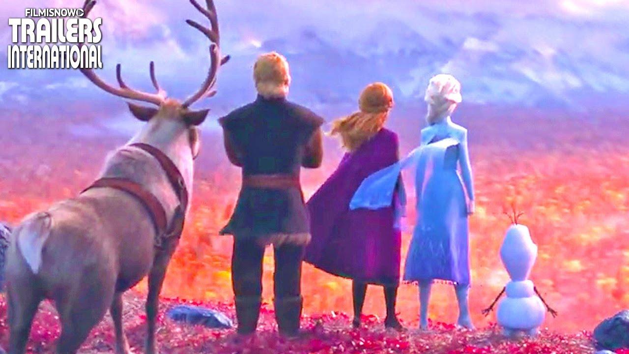 FROZEN 2 (2020) | Primeiro Trailer do Filme Sequência Disney