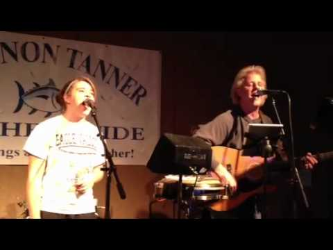 Jessica Long and Phil Long singing Closer To Fine
