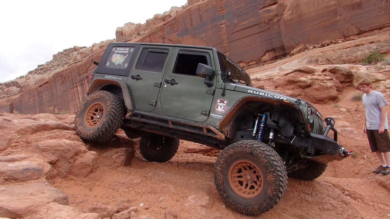 Overland Expedtion 7 mile rim Jeep Wrangler JK off road 4x4