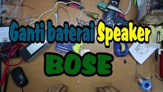 Ganti Baterai Speaker Bose