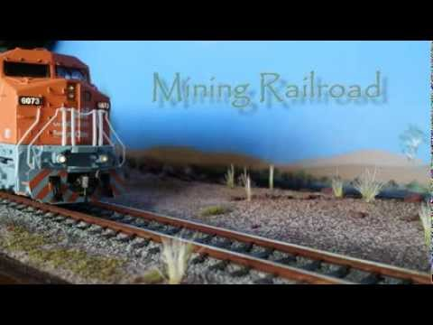 Model railroad scenery and planning for Boulder Creek