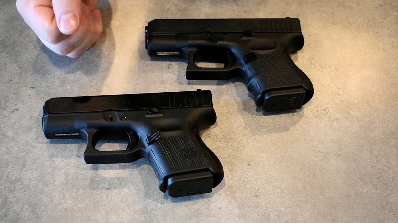 Glock 26 Gen 3 Gen 4 Gen 5 Comparisons Youtube