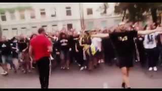 Ультрас Металлиста в Одессе / Metalist ultras in Odessa