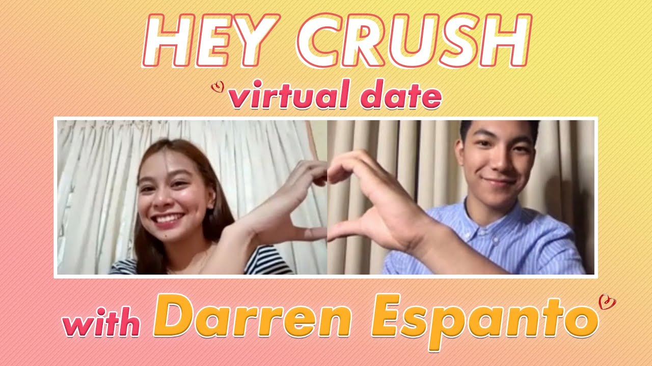 FULL VIDEO: Darren Espanto's Virtual Date with Keithly   Hey Crush
