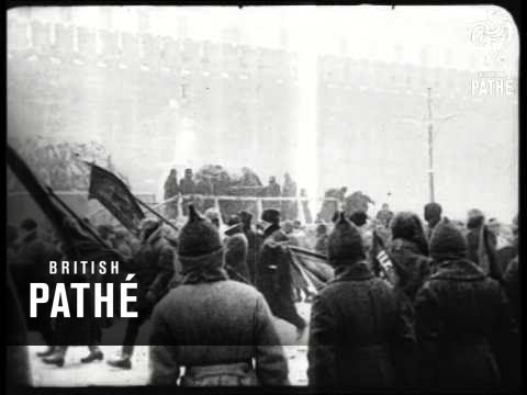 Lenin's Funeral - Moscow (1924)