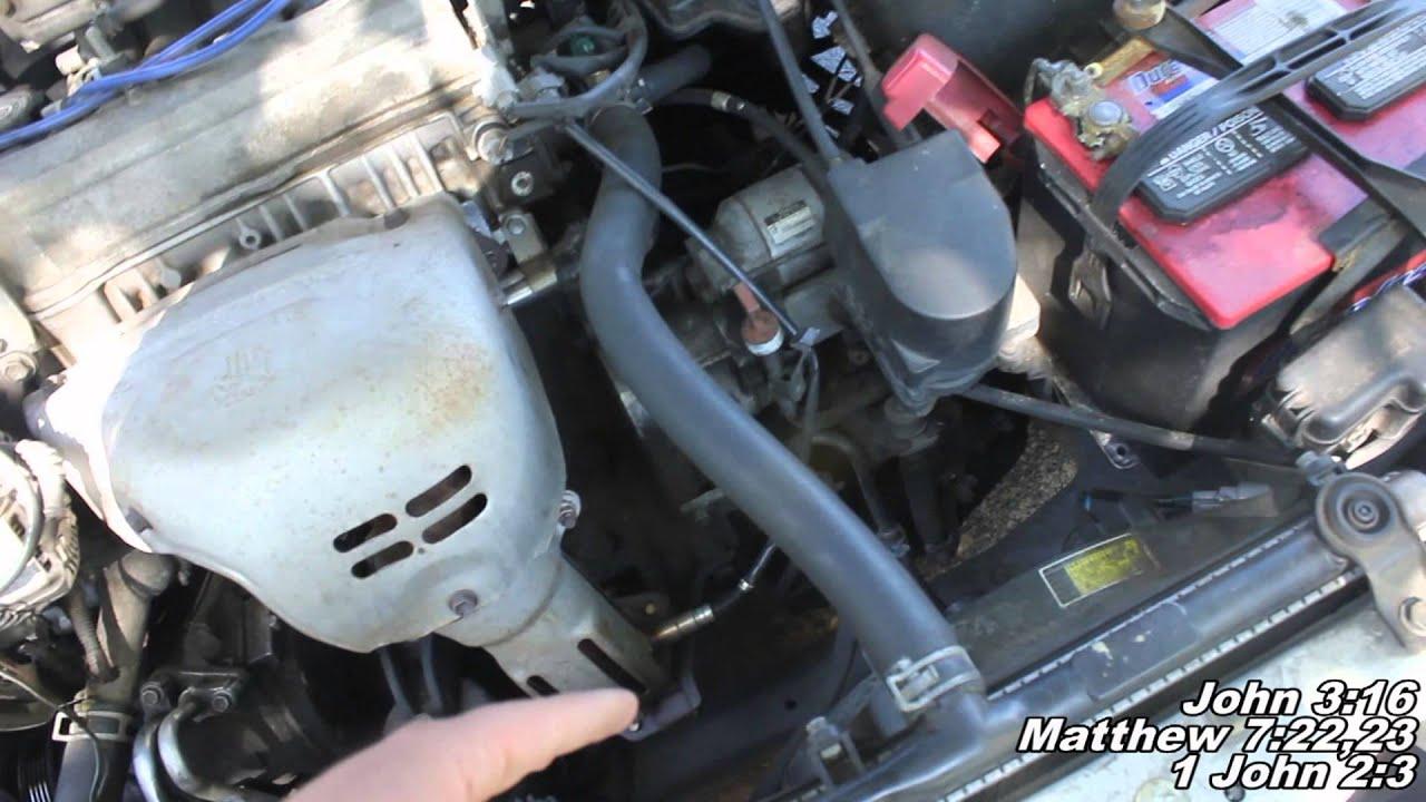 toyotum 2002 4 cylinder camry fuel filter location [ 1920 x 1080 Pixel ]