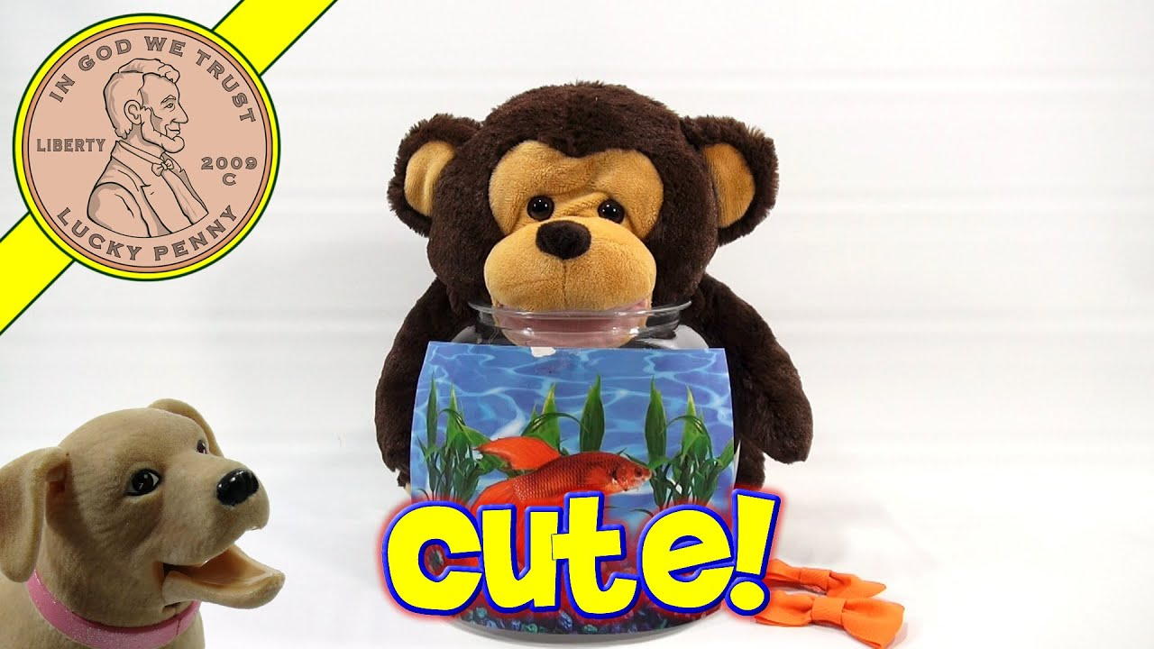 Teddy tank as seen on tv monkey fish bowl george for As seen on tv fish tank